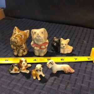 VINTAGE Lot Of 6 Dogs